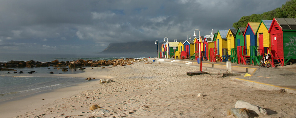 St James Beach near the HUG in Cape Town